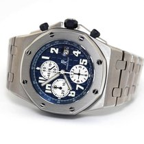 Audemars Piguet Royal Oak Offshore Chronograph Titanio 44mm Azul
