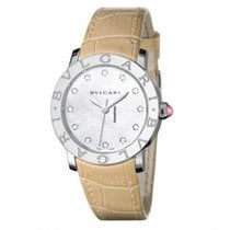 Bulgari Bulgari Steel 37mm Mother of pearl No numerals