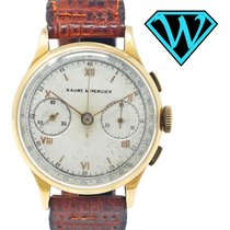 Baume & Mercier Yellow gold 34,7mm Manual winding pre-owned