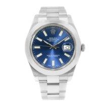 Rolex Datejust II Steel 41mm Blue