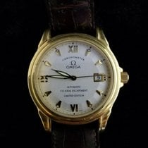 Omega De Ville Co-Axial Yellow gold 37.5mm White Roman numerals United States of America, Kansas, Mission