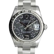 Rolex Lady-Datejust 31mm Zilver Arabisch