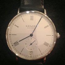 NOMOS Ludwig Automatik Staal 40mm Wit Romeins