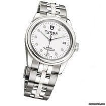 Tudor Steel Automatic Silver No numerals new Glamour Date-Day