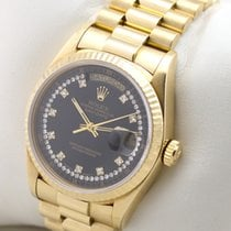 Rolex DAY DATE PRESIDENT 18K GOLD GILT DIAMOND STRING DIAL