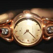 롤렉스 레드골드 수동감기 금색 숫자없음 21mm 중고시계