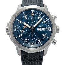 IWC Aquatimer Chronograph Acero 44.00mm Azul