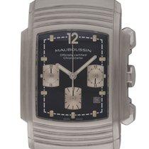 Mauboussin : Fouga Chronograph :  R.05390 :  Stainless Steel