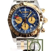 Breitling Chronomat 44 GMT Chronograph Steel/Pink Gold Blue...