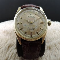 Rolex OYSTER PERPETUAL 6564 14K YG with Original 2-Step...