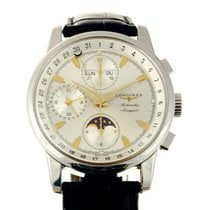 Longines Conquest Heritage Calendar Chronograph Moonphase...