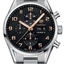 TAG Heuer Carrera Calibre 16 new 2021 Automatic Chronograph Watch with original box cv2a1ab.ba0738