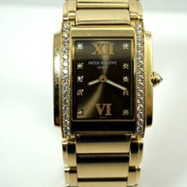 Patek Philippe Twenty~4 18k rose gold ladies dates 2000's
