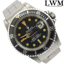Rolex Submariner 1680 MK6 red written by TIFFANY very rare 1973's