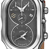 Philip Stein Signature Staal 34mm Zwart