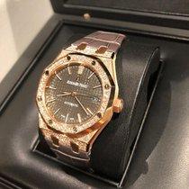 愛彼 Royal Oak Lady Rose Gold diamonds limited