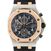 愛彼 Royal Oak Offshore Pink Magic Blue Automatic 26471SR.OO.D10...