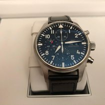 487abd838ac IWC IW377709 Steel 2017 Pilot Chronograph 43mm pre-owned