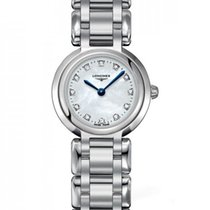 Longines PrimaLuna Steel 23mm Mother of pearl No numerals United States of America, New York, New York