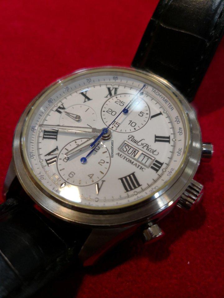 Paul Picot Gentleman Sport tachymeter eladó 1 130 441 Ft Magáneladó  státuszú eladótól a Chrono24-en 522cb6dbcb