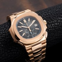 Patek Philippe 5980/1R-001 Rose gold Nautilus 40.5mm pre-owned
