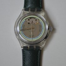 Swatch Automatik 1992 neu Silber