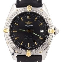 Breitling Antares Gold/Steel 39mm Black United States of America, New York, Lynbrook