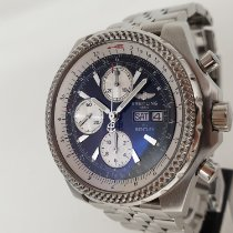 Breitling Bentley GT Steel 44mm Black No numerals