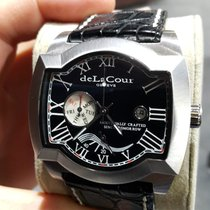 DeLaCour Steel Automatic Saqra Limited Edition pre-owned