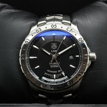 TAG Heuer Link Calibre 7 Staal 42mm Zwart