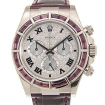 Rolex 116589SALV White gold Daytona 40mm new