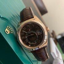 Rolex Sky-Dweller Pозовое золото 42mm Коричневый Россия, Санкт-Петербург