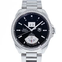 TAG Heuer Grand Carrera Staal 42.5mm Zwart
