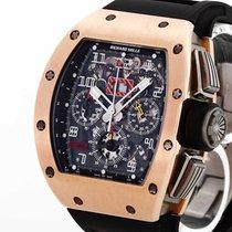 Richard Mille RM 011 Złoto różowe 50mm Przezroczysty Arabskie