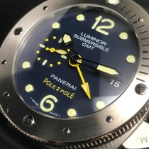 Panerai Titanium 47mm Automatic Luminor 1950 3 Days GMT Automatic pre-owned