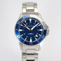 Hamilton Khaki Navy Scuba Steel 40mm Blue