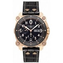 Hamilton Khaki Navy BeLOWZERO Black