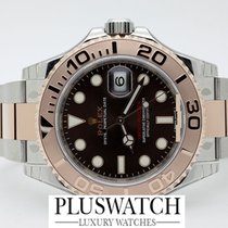 Rolex Yacht Master YachtMaster Steel-Everose Gold Chocolate Dial