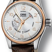 Oris Big Crown Small Second Pointer Day Gold/Steel Silver United States of America, New York, Brooklyn