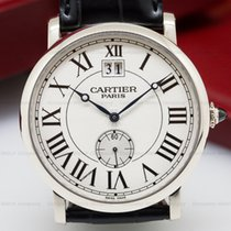 Cartier W1550751 Cartier Privee Rotonde Large Date 18K WG (26111)