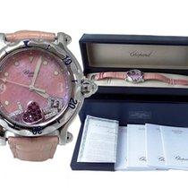 Chopard Pink Chopard Happy Sport Factory Diamond Love Floating...