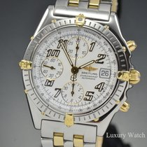 Breitling Chronomat Chronograph 18K Yellow Gold & Steel...
