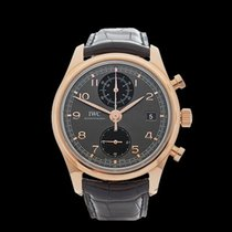 IWC Portuguese Chronograph 18k Rose Gold Gents IW390405 - W4227
