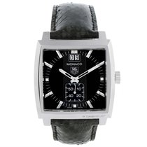 TAG Heuer Monaco Stainless Steel Diamond Unisex Watch Waw1310...