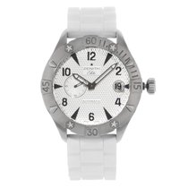 Zenith Elite Steel 43mm Silver Arabic numerals United States of America, New York, New York