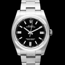 Rolex Oyster Perpetual 36 Steel 36.00mm Black United States of America, California, San Mateo