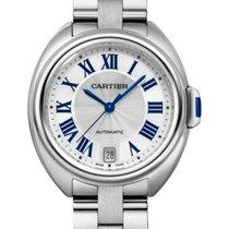 Cartier Clé de Cartier Stahl 35mm Silber Deutschland, Baden Baden