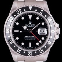 Rolex 16710 Steel 1998 GMT-Master II 40mm pre-owned United Kingdom, London