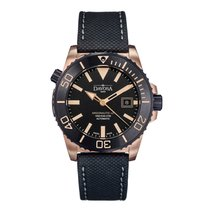 Davosa Argonautic Bronze 42mm Black No numerals