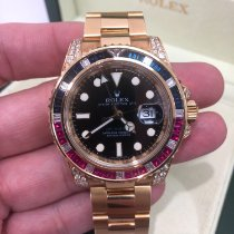 Rolex 116758SARU Or jaune GMT-Master II 40mm occasion